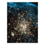 Star Cluster in NGC 1850 18x24 (21x27) Poster