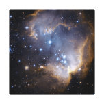 Star Cluster N90 Hubble Space Canvas Print