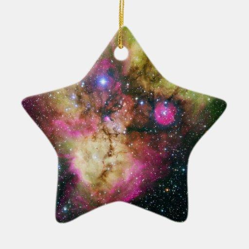 Star Cluster Nebula NGC 2467 Ornaments
