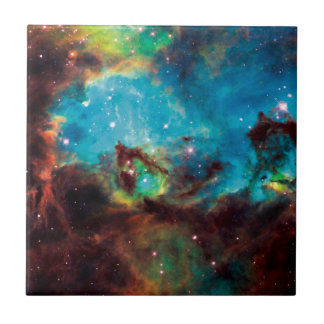 Star Cluster NGC 2074 Tarantula Nebula Space Photo Tile