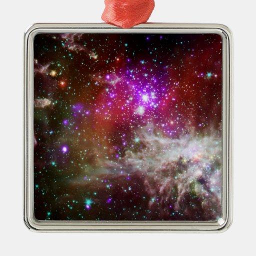 Star Cluster NGC 281 Pacman Nebula Christmas Ornaments