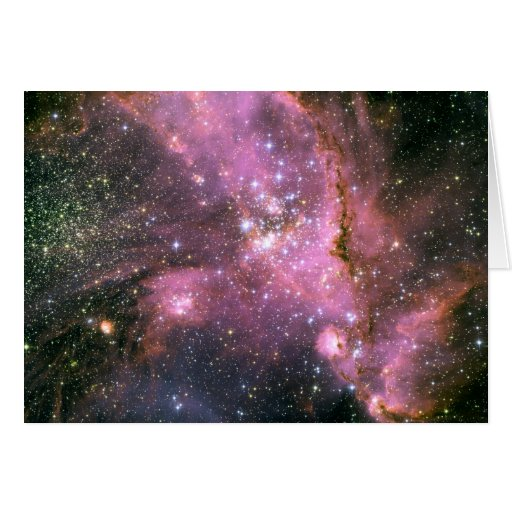 Star Cluster NGC 346 Hubble Space Cards