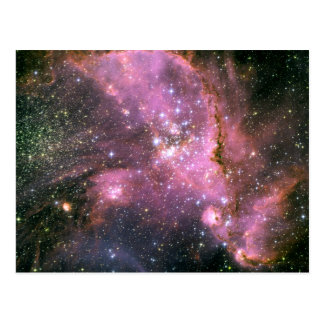 Star Cluster NGC 346 Hubble Space Postcard