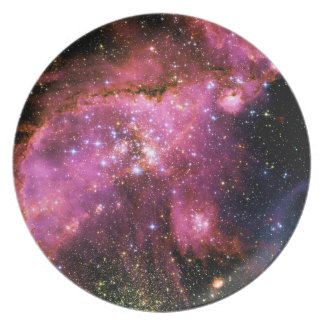 STAR CLUSTER NGC-346 (outer space) ~ Party Plates