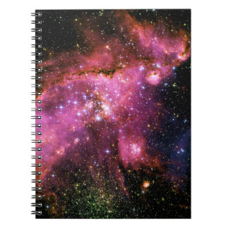 STAR CLUSTER NGC-346 (outer space) ~ Spiral Note Book