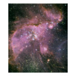 Star cluster NGC 346. Poster