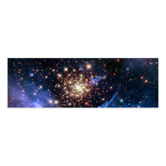 Star Cluster NGC 3603 (Hubble) Business Card Template