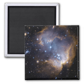STAR CLUSTER (outer space) ~.jpg Square Magnet