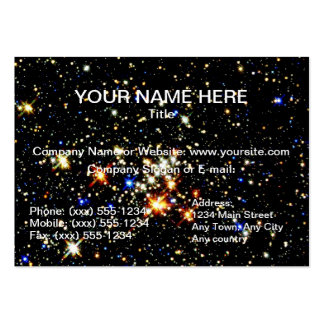 STAR CLUSTER ~ PACK OF CHUBBY BUSINESS CARDS