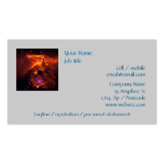 Star Cluster Pismis 24, core of NGC 6357 Double-Sided Standard Business Cards (Pack Of 100)