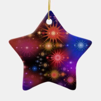 Star Clusters Christmas Ornament