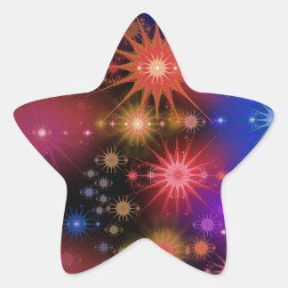 Star Clusters Star Sticker