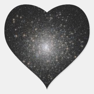 Star Clusters - Starry Sky Heart Sticker
