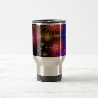 Star Clusters Travel Mug