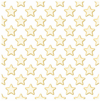 Star Cookies Pattern. On White. Standing Photo Sculpture