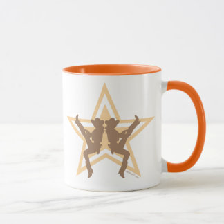 Star Cowgirls Orange Mugs