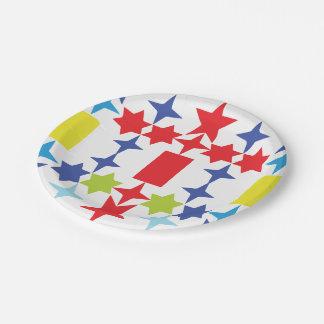Star Cross 7 Inch Paper Plate