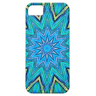 Star Crystal Mandala - Macro Art - Abstract iPhone 5 Case