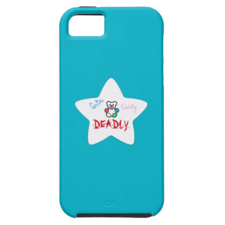 """Star"" Cute. Cuddly. Deadly. iPhone 5 cases! Tough iPhone 5 Case"