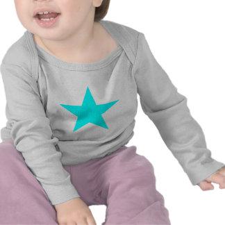 Star Cyan The MUSEUM Zazzle Gifts T-shirt