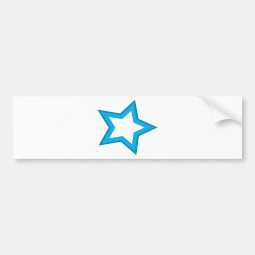 star delicious bumper sticker