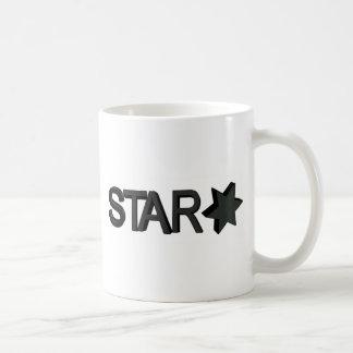 star desing coffee mug