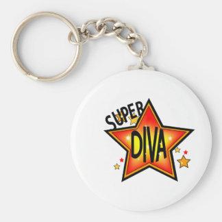 Star Diva Keychain