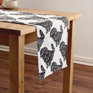 Star_Dog Short Table Runner