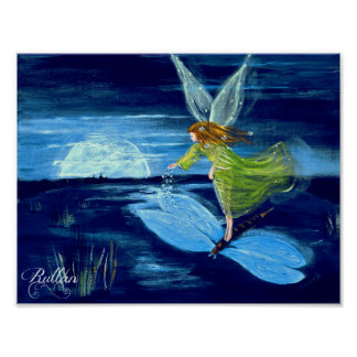 """STAR DUST"" FAIRY POSTER"