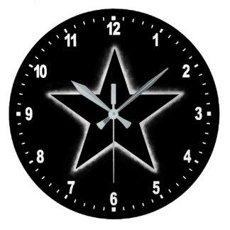 Star eclipse large clock