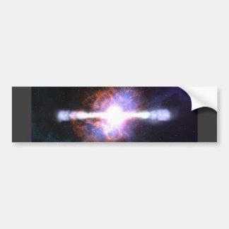 STAR EXPLOSION BUMPER STICKERS