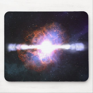 STAR EXPLOSION MOUSE MAT