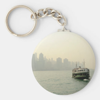 Star Ferry Hong Kong Basic Round Button Key Ring