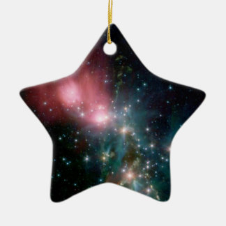 Star field christmas ornament