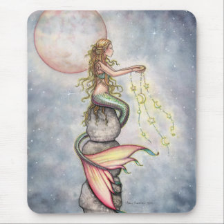 Star Filled Sky Mermaid Mousepad