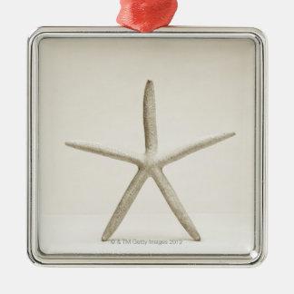 Star fish shell christmas ornament