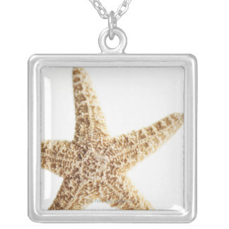 Star fish silver plated necklace
