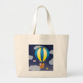 Star fishing canvas bags