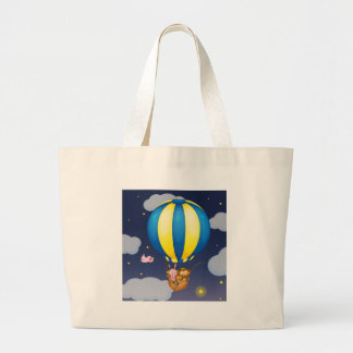 Star fishing canvas bags