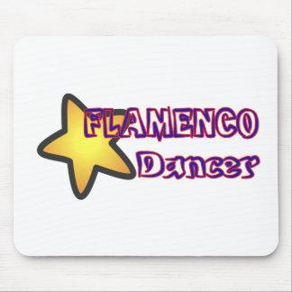Star Flamenco Dancer Mouse Pad