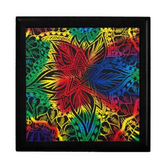 Star Flower Rainbow Gift Box