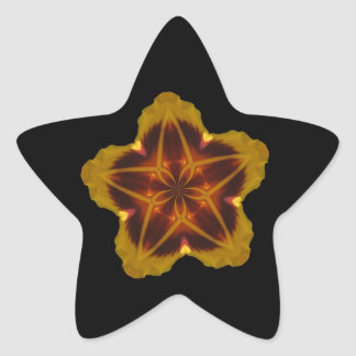 Star Flower Stickers