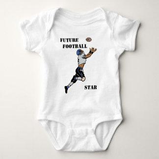 Star Football Player Baby Bodysuit