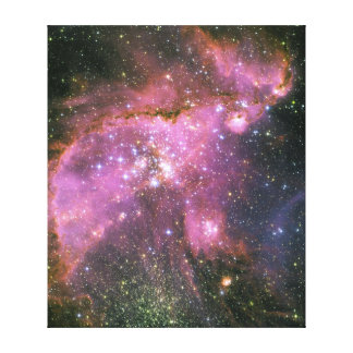 Star Formation Cluster NGC 346 Stretched Canvas Print
