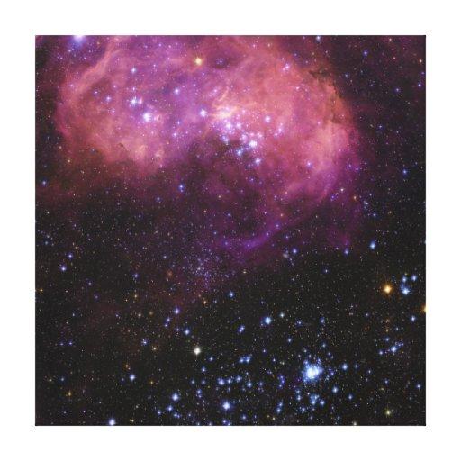 Star Formation Region N11 Magellanic Cloud Gallery Wrap Canvas