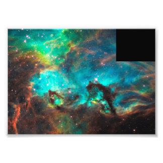 Star-Forming Nebula near NGC 2074 Photographic Print