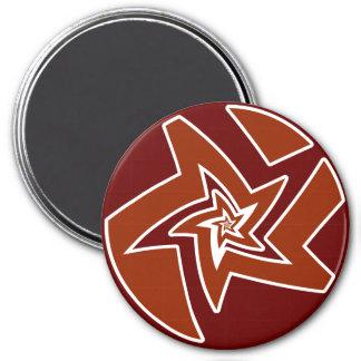 Star Fractal Magnet