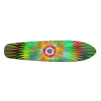 Star fractal skate deck