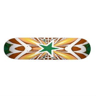 Star Fractal Skateboard