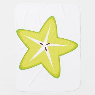 Star Fruit Baby Blanket